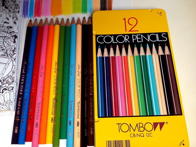 トンボ色鉛筆12色 CB-NQ 12C