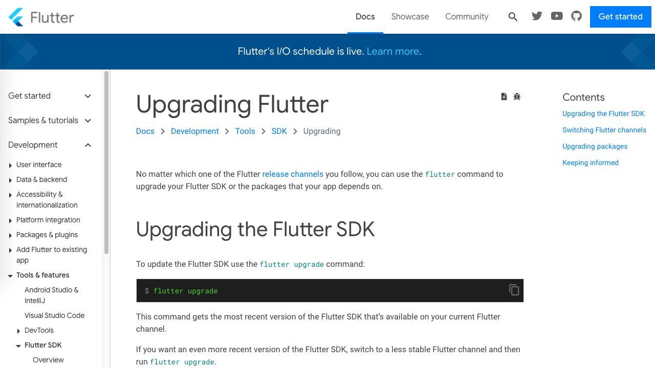 FlutterをFlutter2にアップグレードする方法