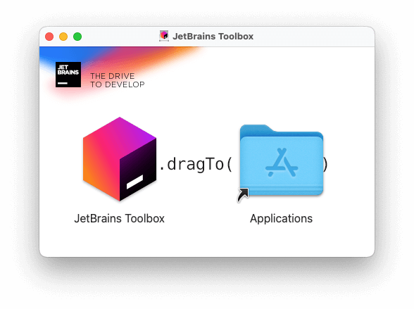 Jetbrains Toolbox Appのインストール画面